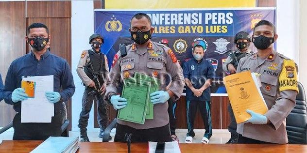 Tilep Dana Hafidz 3,7 Milyar, Mantan Kadis Syariah Ditangkap Polisi