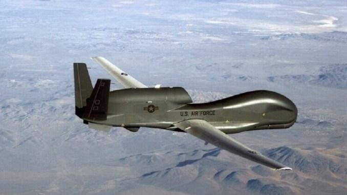 Pesawat Mata-mata AS 'Global Hawk' Terbang Dekat Krimea