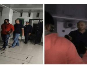Video Detik-detik Polisi Tangkap Pelaku Pemukulan Perawat RS Siloam