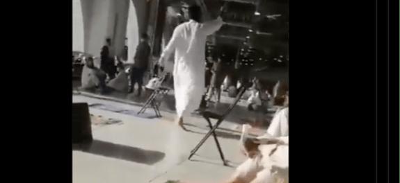 Geger! Seorang Pria Berjenggot Bawa Pisau Ikrarkan ISIS di Masjidil Haram