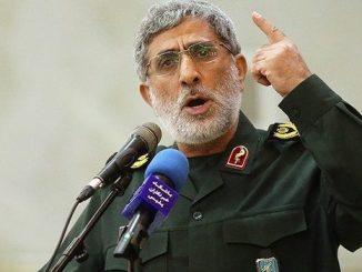 Surati Komandan Brigade Al-Quds, Ghaani: Kita akan Segera Masuki Masjid Al-Aqsha