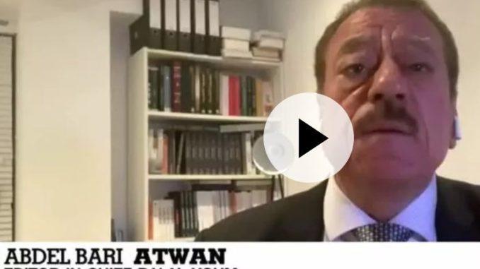 Atwan: Netanyahu Kibarkan Bendera Putih pada Palestina