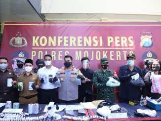 Gerebek 3 Home Industri Petasan, Polisi Sita 70 Kg Peledak