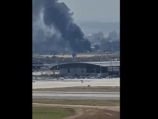 Kebakaran Misterius di Bandara Ben Gurion Israel