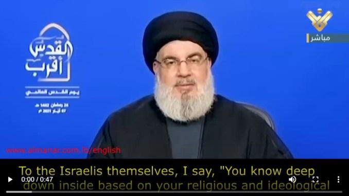 Nasrallah: Poros Perlawanan Semakin Kuat, Israel Melemah