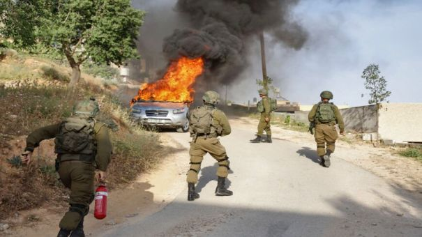 Pemukim Ilegal serang Warga Palestina Pasca Penembakan Tentara Israel