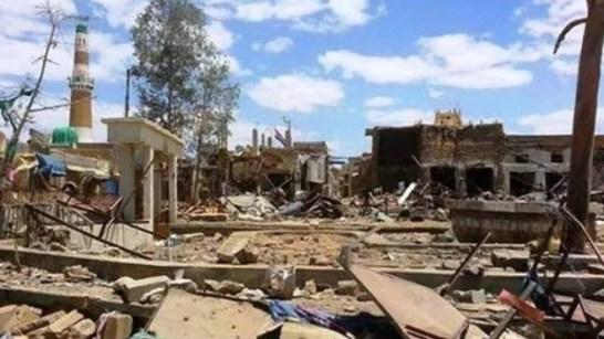 Koalisi Saudi Hancurkan Ratusan Masjid di Sa'ada Selama Agresinya di Yaman