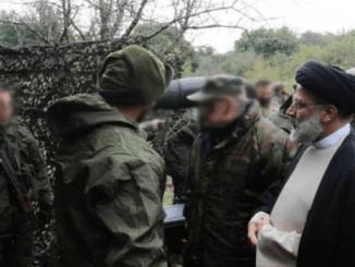 GEGER! Hizbullah Rilis Foto Ebrahim Raisi di Perbatasan Israel