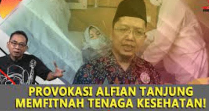 Provokasi Keji Alfian Tanjung Fitnah Nakes yang Tangani Covid-19