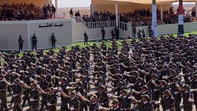 Hashd Al-Shaabi Irak Gelar Parade Militer Besar-besaran