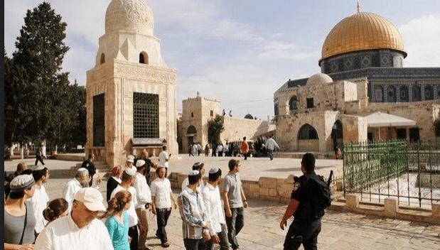 Zionis Israel Preman Tempat Suci Umat Islam