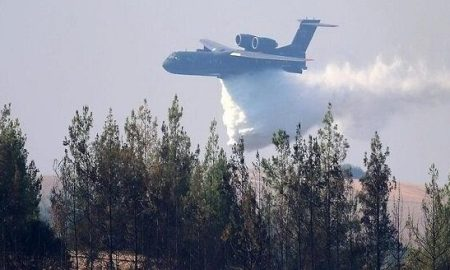 Pesawat Damkar Rusia Jatuh di Turki, Seluruh Kru Tewas