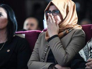 Tunangan Khashoggi Tuduh AS Sembunyikan Fakta Pembunuhan