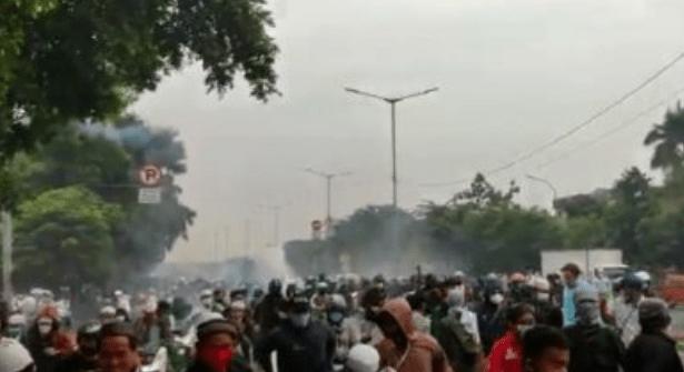 Polisi: Kerusuhan Pendukung HRS Terkoordinir