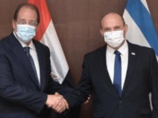 El Sisi Secara Resmi Undang PM Israel Kunjungi Mesir