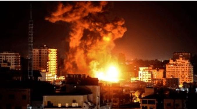 Israel Bombardir Jalur Gaza Pasca Bentrokan di Perbatasan