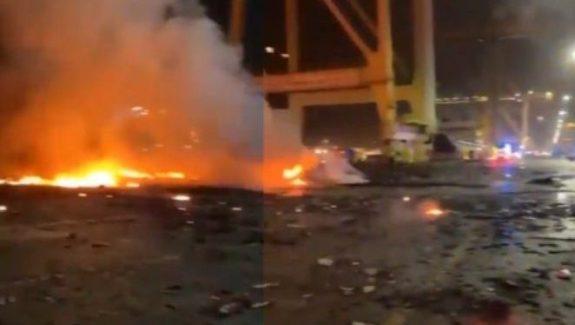 Ledakan di Pelabuhan UEA Tewaskan 3 Insinyur Israel
