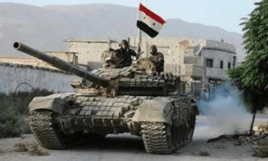 Tentara Suriah Hajar Habis-habisan Teroris di Daraa