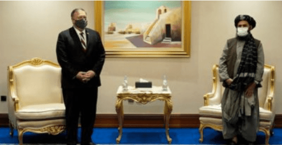 Pompeo Tandatangani 'Perjanjian Menyerah' dengan Taliban