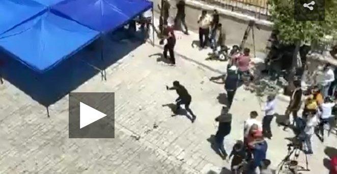 Tentara Israel Serang Jamaah di Dekat Masjid Ibrahimi