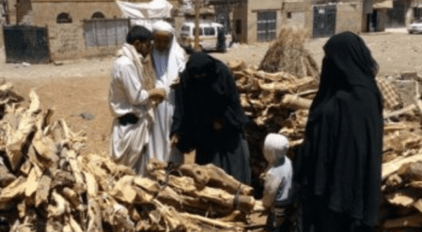 Blokade Kejam Saudi Paksa Yaman Gunakan Kayu Sebagai Bahan Bakar