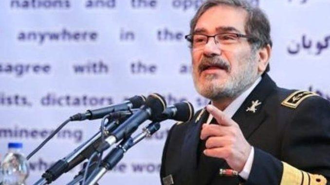 Shamkani: Akhir dari Pendudukan Apapun adalah Kekalahan Memalukan