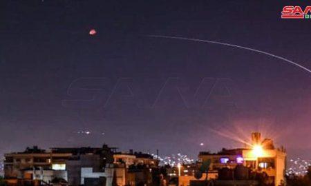 Pertahanan Udara Suriah Tembak Jatuh Rudal Israel di Sekitar Damaskus