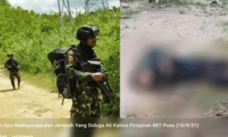 Ali Kalora Disergap dan Ditembak Mati Saat Jemput Logistik