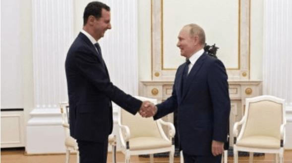 VIDEO: Presiden Suriah Temui Putin dalam Kunjungan Mendadak