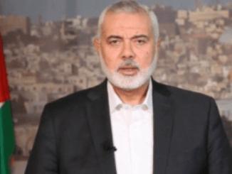 Haniyeh: Darah 5 Syuhada Al-Quds dan Jenin Perkuat Formula Perlawanan
