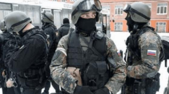FSB Rusia Gagalkan Serangan ISIS ke Penegak Hukum