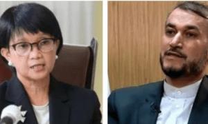 Menlu Indonesia-Iran Gelar Pembicaraan soal Afghanistan