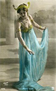 Margaretha Geeruida Zelle, mítico personaje, nacida en Los Países Bajos el siete de agosto de 1876. conocida como Mata Hari.