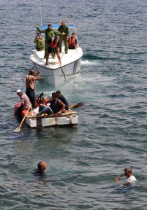 muere cubano balsero