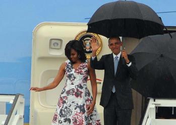 obama en suelo cubano 5