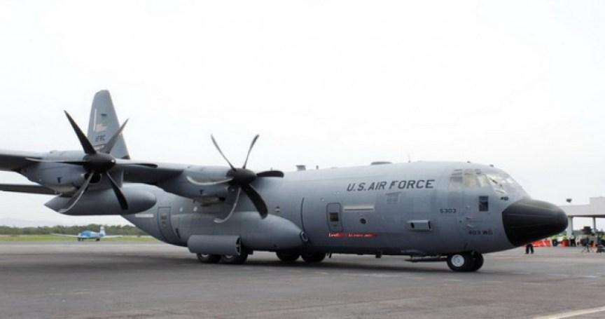 avion caza huracanes de estados unidos