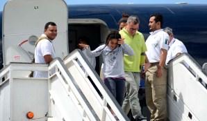 Cubanos deportados de México