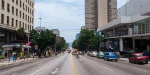 La más populosa calle habanera