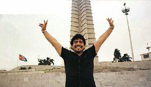 Los viajes de Maradona a Cuba