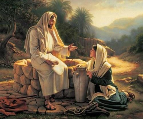 Image result for samaritan woman at the well