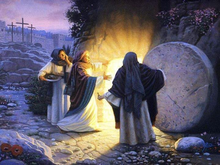 Alléluia , Jésus est réssuscité