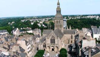 Iglesia de Saint Sauveur en Dinan