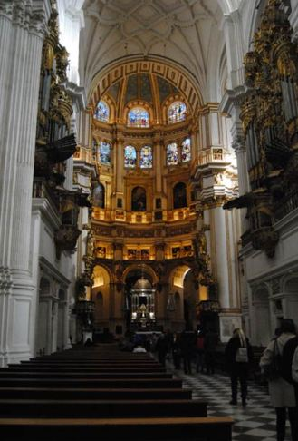 Catedral de Granada, interior