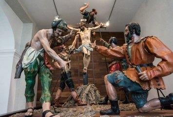 Paso de Semana Santa. Museo Nacional de Escultura (Valladolid)