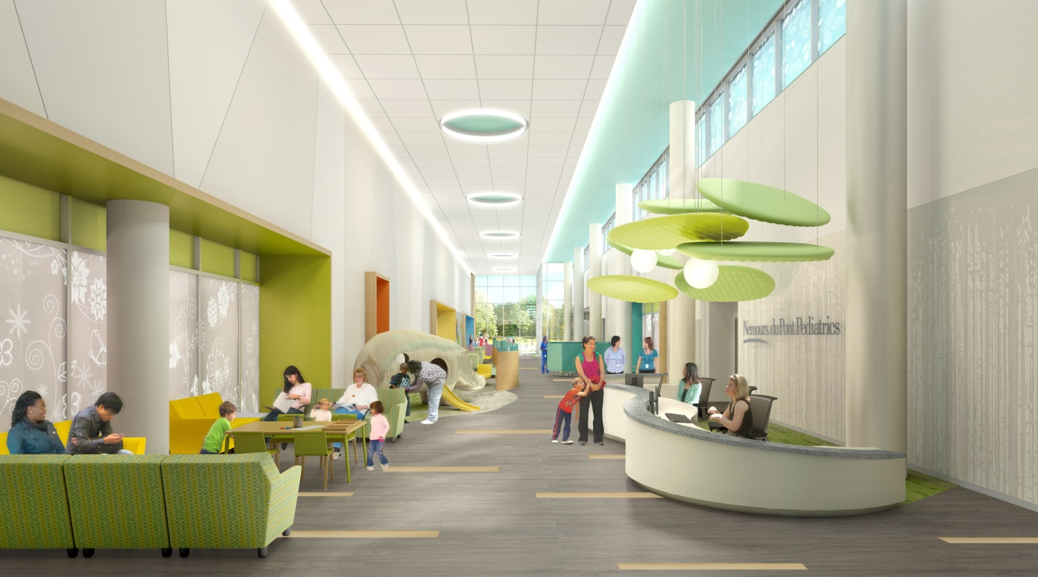 Top 10 Considerations For Designing A Pediatric Waiting