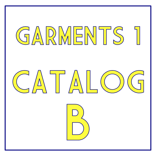 Garments 1 Catalog B