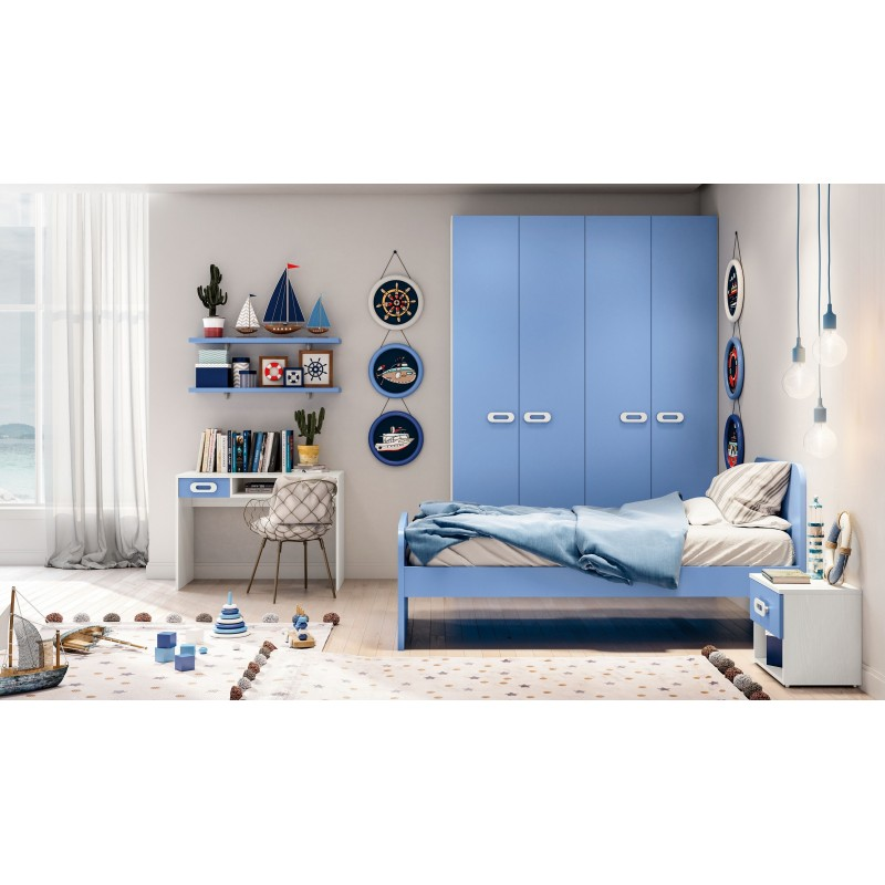 Arredamenti per soggiorno, camere da letto, arredo bagno e cucine particolari su misura e molto altro ancora. Cameretta Componibile Nuova Art Zen102 Arredamentishop It
