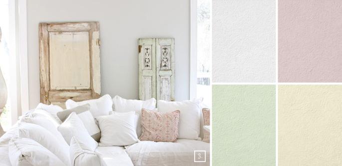 Se amate le atmosfere romantiche dello stile shabby chic, tinteggiate le pareti di casa con righe dai colori pastello. Dipingere Le Pareti Di Casa In Perfetto Shabby Le Linee Guida