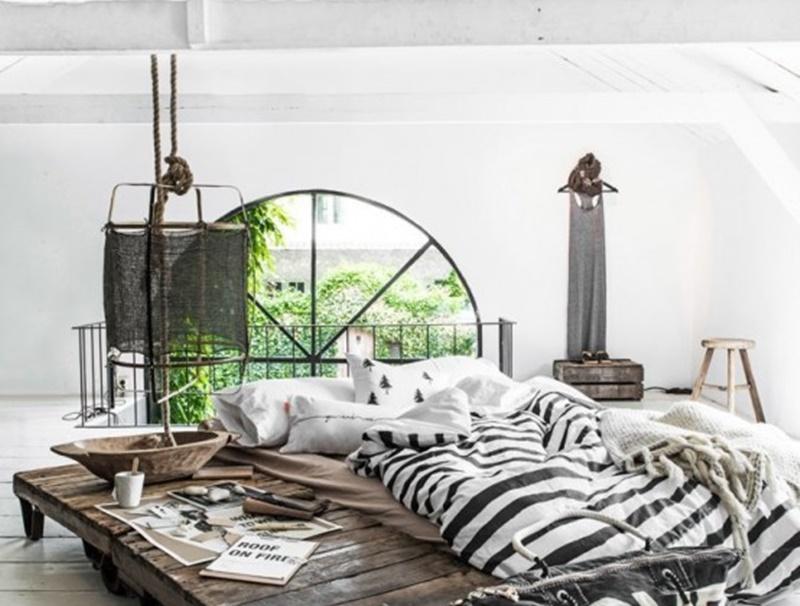 Molto Camera Da Letto Industrial Chic: Camera da letto fai te angolo  RK58