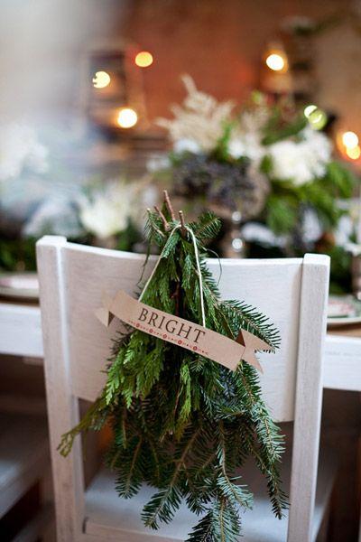 Sedie decorate per Natale: come addobbarle in stile shabby ( FOTO )